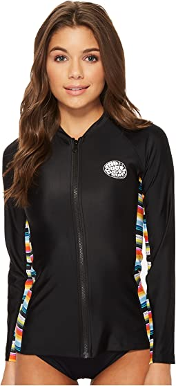 Rip Curl - Beach Bazaar Zip Through Long Sleeve