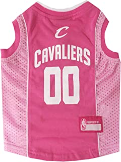 NBA Cleveland Cavaliers Pink Dog Jersey, Small