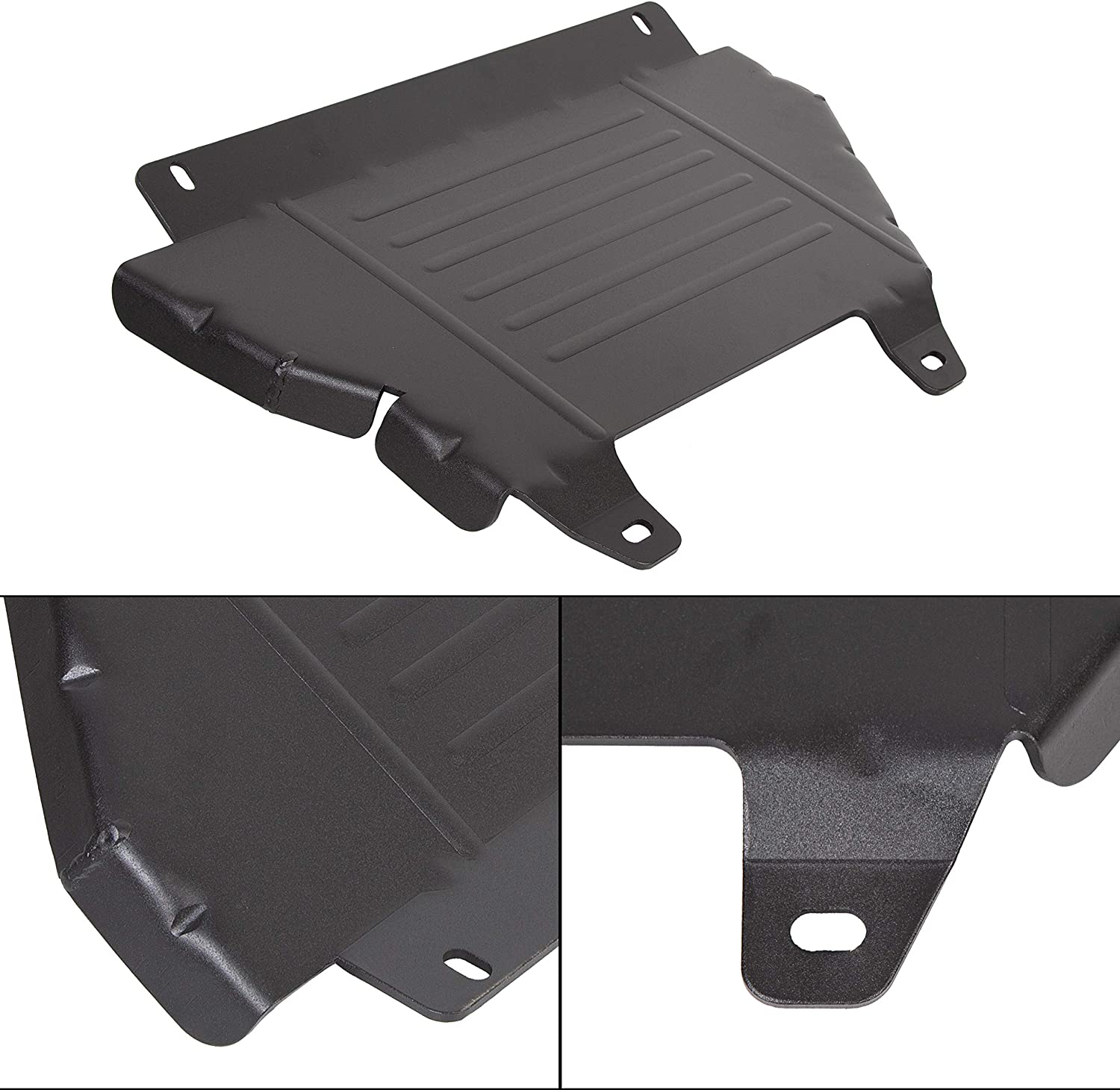 Opening large release sale ECOTRIC Front Skid Plate Compatible Elegant Colorad Chevy 2015-2019 with