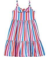 Knot Front Dress (Little Kids/Big Kids)