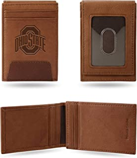 Rico Industries Ohio State Premium Leather Front Pocket Wallet