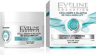 كريم صباحي وليلي المضاد للتجاعيد ويحتوي على 3 اضعاف الكولاجين من ايفلاين، 50 مل