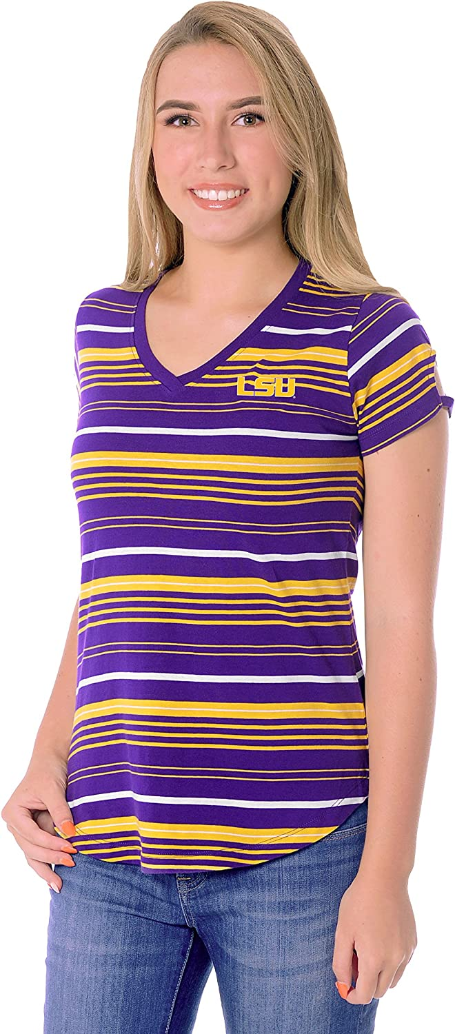 NCAA Womens Cut-Out Tailgate Tee