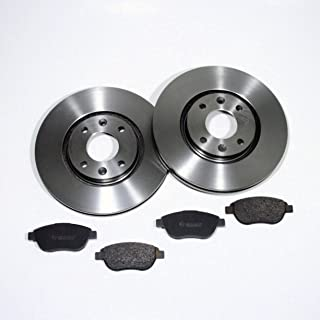 Bremsscheiben belüftet/Bremsen + Bremsbeläge für vorne
