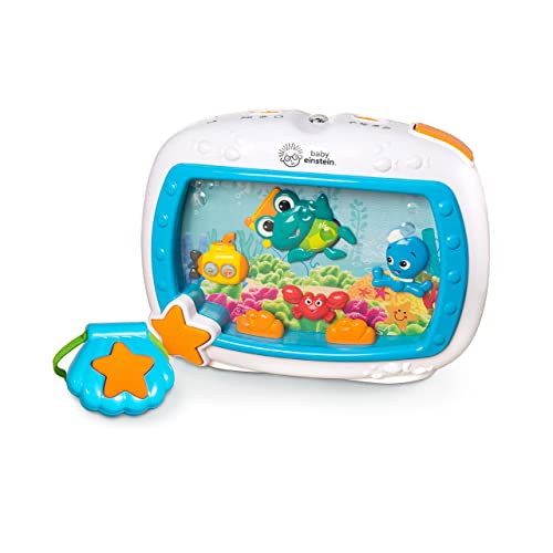 Baby Einstein Sea Dreams Soother Crib Toy with Remote, Lights and Melodies for Newborns and