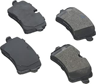 Bosch BE1547H Blue Disc Brake Pad Set with Hardware for Select 2011-15 Audi A6, A7, A8, RS5, RS7, S6, S7, S8, SQ5; Porsche Macan - REAR