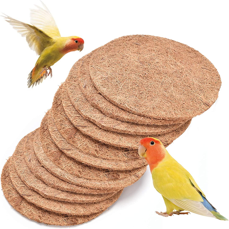 kathson Bird Nesting Branded goods Pads Natural B Parrots Fiber Nests Breeding Ranking TOP2