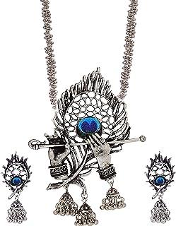 U Uzan C1 Fashion Uz Designer Jewellery Necklace Set for Women & Girls