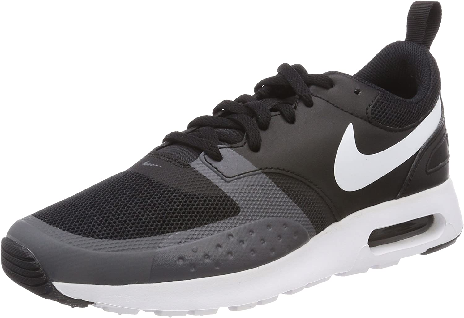 Nike Men's Air Max Vision Low-Top Sneakers, (Black White-Dark Grey), 6 UK (40 EU)