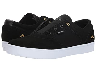 Emerica Figgy Dose (Black/White/Gold) Men