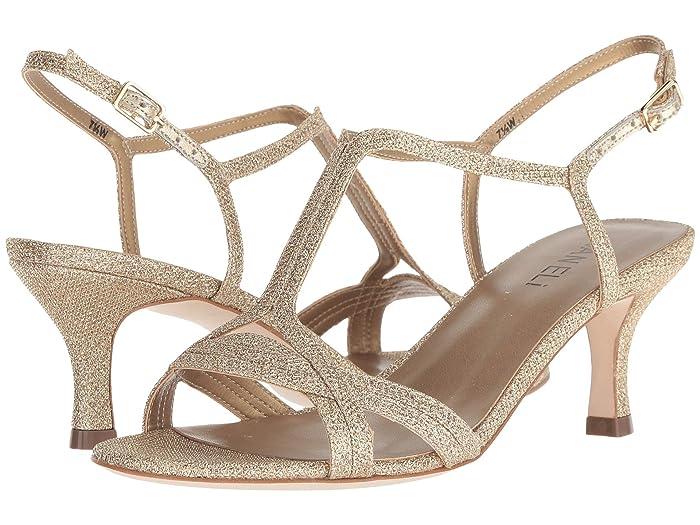 Vaneli Maxine (Platino Fabric/Platino Metallic Nappa) Women's  Shoes