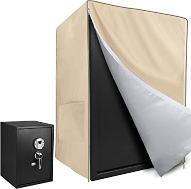 """SOKINGCOVER Safe Cover Khaki, 15.4"""" L x 14.6"""" W x 20"""" H and Durable, Easy to Hide"""
