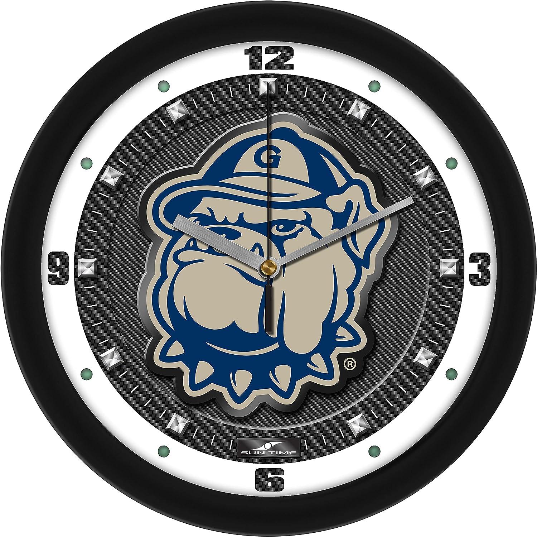 Georgetown Hoyas - Carbon Fiber Textured Cheap sale Ranking TOP14 Clock Wall