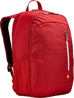 Case logic Laptop Backpack For Unisex, 15.6 Inch, RED - WMBP115RCR