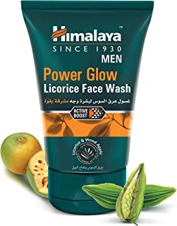 Himalaya Herbals Men Power Glow Licorice Face Wash - 100 ml