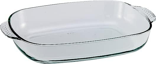 Vidrio de borosilicato Fuente Ovalada para Horno 39 x 27,5 x 7/cm BCSA PL9