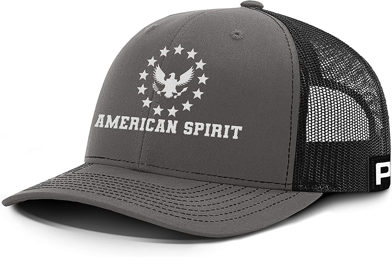 Printed Kicks American Spirit 13 Stars Eagle Back Mesh Hat USA Patriotic American Baseball Caps