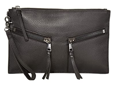 Botkier Trigger Clutch (Black) Clutch Handbags