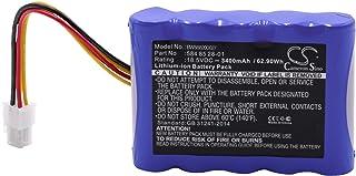 vhbw Batería Compatible con Husqvarna Automower Modelo 310 (2015, 2016, 2017, 2018), Modelo 315 (2015, 2016, 2017, 2018) (Li-Ion, 3400mAh, 18.5V)