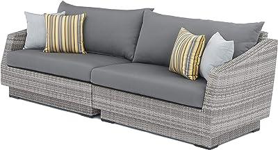 Amazon.com: PHI VILLA - Conjunto de muebles seccionales para ...