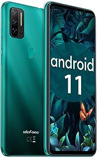 "Ulefone Note 11P SIMフリースマートフォン本体 HelioP60 8GB+128GB Android 11 48MP+8MP+2MP+2MP 4眼カメラ 6.55"" FHDフルスクリーン スマホ本体 4400mAh大容量バッテ..."