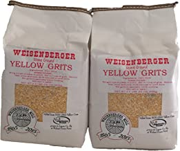 Yellow Grits Weisenberger Mills Southern Non Gmo A Ky Proud Product 2 Pound Ea Pkg 2 Packs