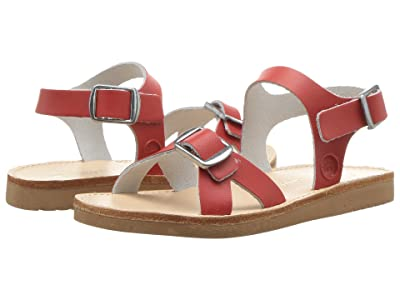 Freshly Picked Carmel Sandal (Infant/Toddler/Little Kid) (Cherry) Girls Shoes