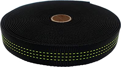 GM CLIMBING Nylon Tubular Webbing Tape 4000lb Heavy Duty for General Outdoor Application 1