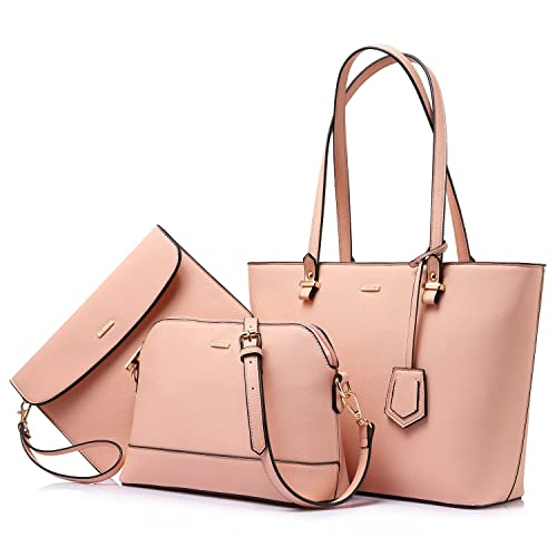 f6ede0fbca Handbags for Women Shoulder Bags Tote Satchel Hobo 3pcs Purse Set