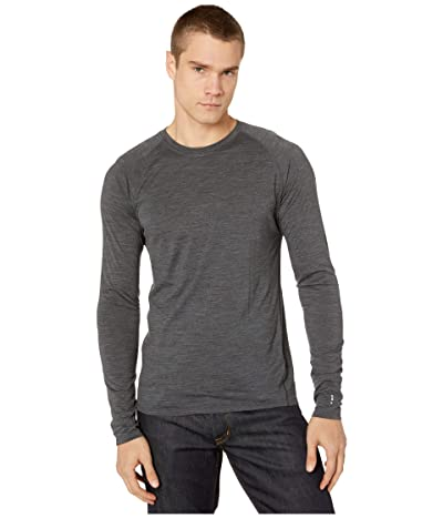 Smartwool Merino 150 Baselayer Long Sleeve (Iron Heather) Men