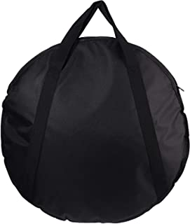 Bestonzon Cymbal Bag Padded Cymbal Slinger Gig Bag with Backpack Straps Musical Instrument Storage Bag Tote Pouch for Outd...