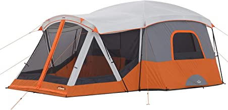 CORE 11 Person Family Cabin Tent with Screen Room (Renewed)