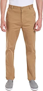 Young Men's Uniform Flat Front Stretch Twill Pant