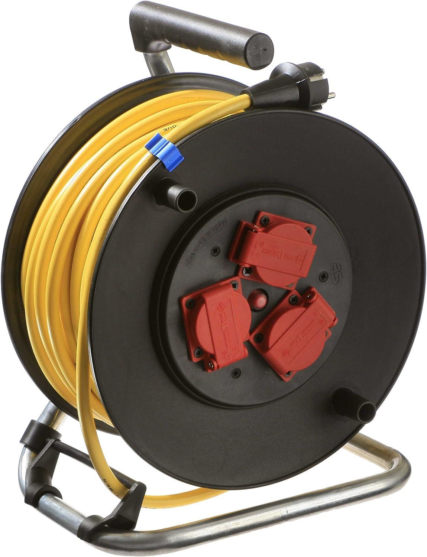 As - Schwabe Profi Kabeltrommel Outdoor, schwarz, schwarz, schwarz, mit 40m Kabel, IP44 B00475BHWO | Shop  c3c716