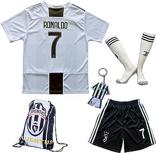 4a595343fa8 GamesDur 2018 2019 Cristiano Ronaldo  7 Home Football Soccer Kids Jersey    Short