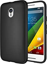 Moto G 3rd Gen Case, Diztronic Full Matte Slim-Fit Flexible TPU Case for Motorola Moto G (3rd Generation) 2015 - Black (MG...
