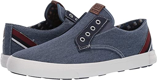 Dark Navy Canvas