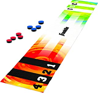 Franklin Sports Shuffleboard Table Game Mats – Tabletop Shuffleboard Mats and Pushers – Indoor Shuffleboard Games