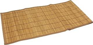Seta Direct, Brown Bamboo Slat Table Runner With Brown Color Border (13