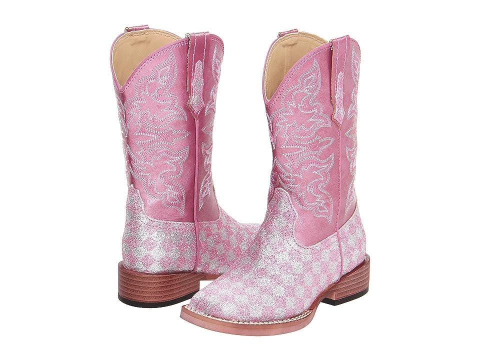 Roper Kids Bling Glitter (Toddler/Little Kid) (Pink) Cowboy Boots