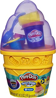 Play-Doh Sweet Shoppe Ice Cream Cone Container Craft Kit 5 oz. ( Colors May Vary )