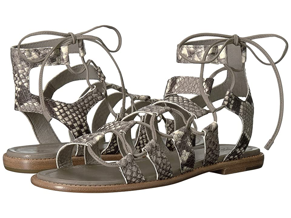 Frye Blair Side Ghillie (Grey Snake Embossed Goat) Women