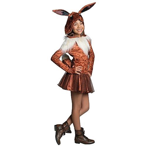 76fcd91c1583 Rubie s Costume Pokemon Eevee Child Hooded Costume Dress Costume