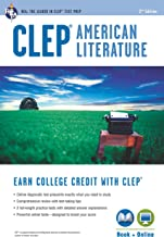 CLEP® American Literature Book + Online (College Placement Test Preparation)