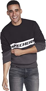 Skechers Men's Heritage Blocked Crewneck Sweatshirt