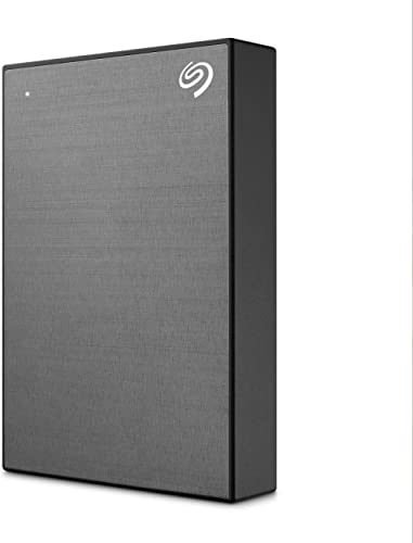 Seagate Retail STKC5000404 One Touch Portable Hard Disk Drive, 5 TB, Space Grey
