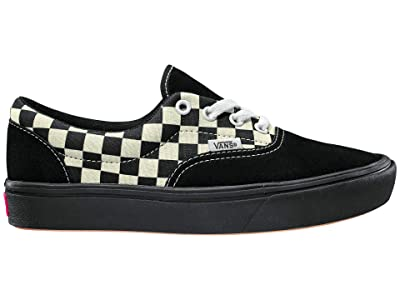 Vans ComfyCush Era (Mixed Media Antique White/Black) Athletic Shoes