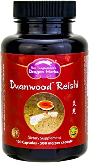 Dragon Herbs Duanwood Reishi - 500 mg