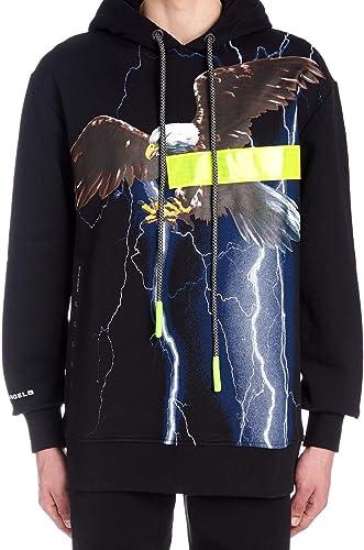 PALM ANGELS Luxury mode Homme PMBB041S194920311088 Noir Sweatshirt   Printemps été 19