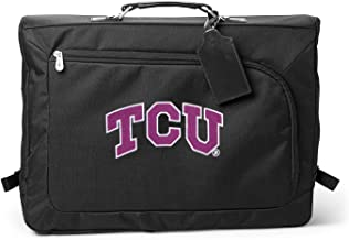 Denco NCAA TCU Horned Frogs Carry-On Garment Bag, 18-inches, Black, 18-inches
